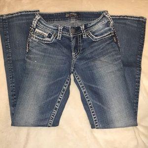 Silver Suki 26/33 Bootcut Jeans
